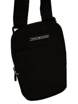 Borsa tracolla bag TOMMY HILFIGER art. AM0AM01267 CROSSOVER col. 002 NERO BLACK