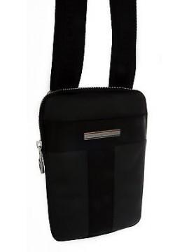 Borsa tracolla bag TOMMY HILFIGER articolo AM0AM01261 colore 002 NERO BLACK
