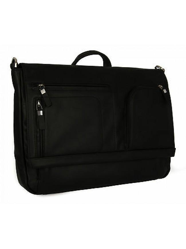 Borsa tracolla cartella messenger bag PIQUADRO SC a. CA3276S80 col. N NERO BLACK