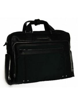 Borsa tracolla cartella notebook bag PIQUADRO SC art. CA1585LK colore BLU