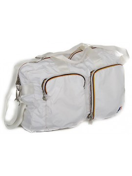 Borsa tracolla richiudibile K-WAY a.4AKK1315 BRIEFCASE BAG colore B9 WHITE