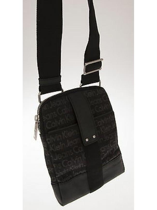 Borsa tracolla unisex flat bag CK CALVIN KLEIN JEANS art.J5IJ500112 col.990 NERO