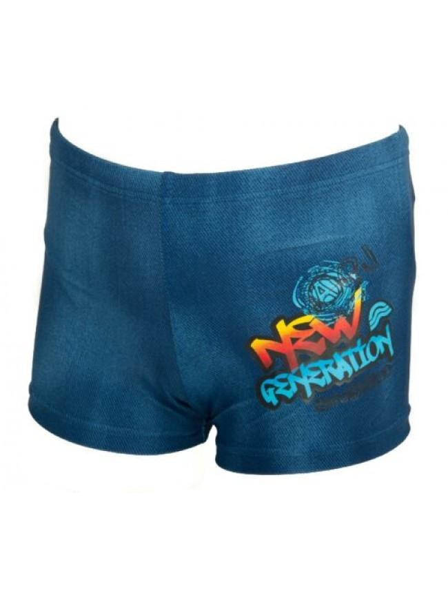 Boxer bimbo bambino junior costume mare o piscina swimwear AQUARAPID articolo BL