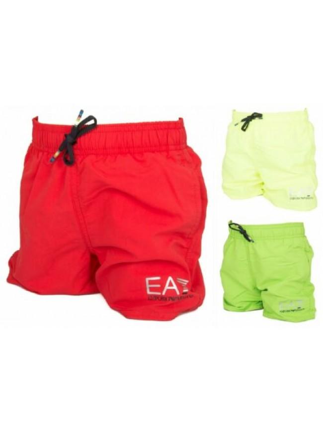 Boxer bimbo junior mare o piscina EA7 EMPORIO ARMANI articolo 906005 7P772 SEA W