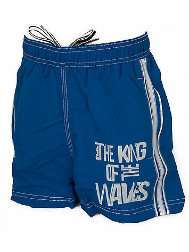 Boxer costume mare bimbo short beachwear LOTTO R0154 taglia S 9-10 col. ATLANTIC