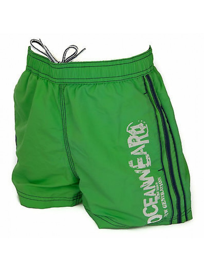 Boxer costume mare bimbo short beachwear LOTTO R6235 taglia M 11-12 col. GREEN