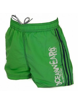 Boxer costume mare bimbo short beachwear LOTTO R6235 taglia S 9-10 col. GREEN