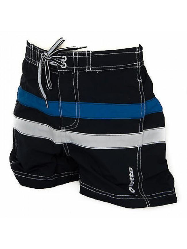 Boxer costume mare bimbo short beachwear LOTTO a. Q4281 taglia S 9-10 col. NAVY
