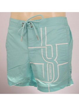 Boxer costume mare shorts beachwear BIKKEMBERGS a.P293 L19 T.M col.3600 TURCHESE