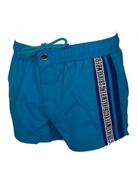 Boxer costume mare uomo beachwear BIKKEMBERGS B6G5001 taglia S c. 2050 TURQUOISE