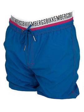 Boxer costume mare uomo beachwear BIKKEMBERGS P327 L1E taglia L col.3300 AZZURRO