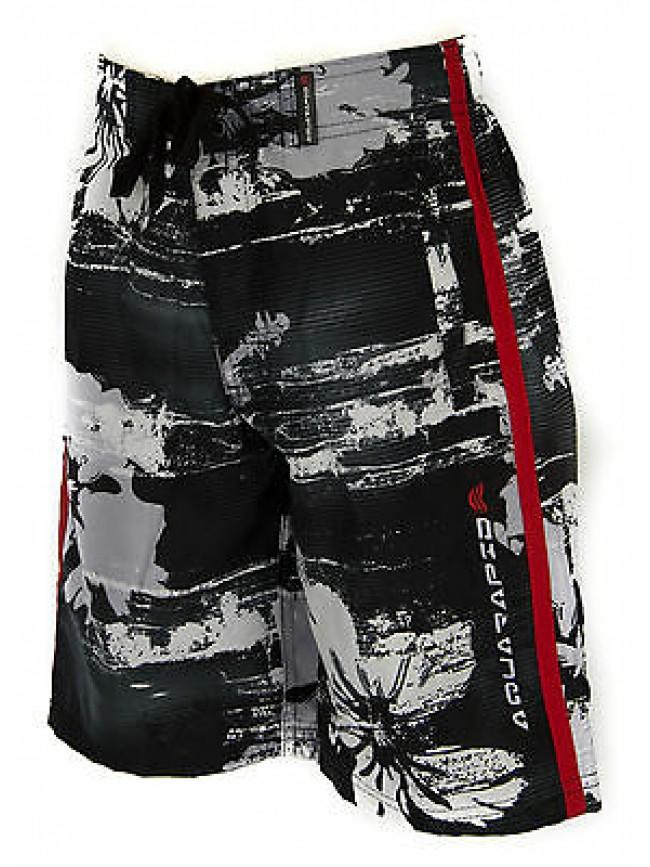 Boxer mare bimbo beachwear AQUARAPID a. KAENA JR taglia 10A 10 ANNI col. C-BLACK