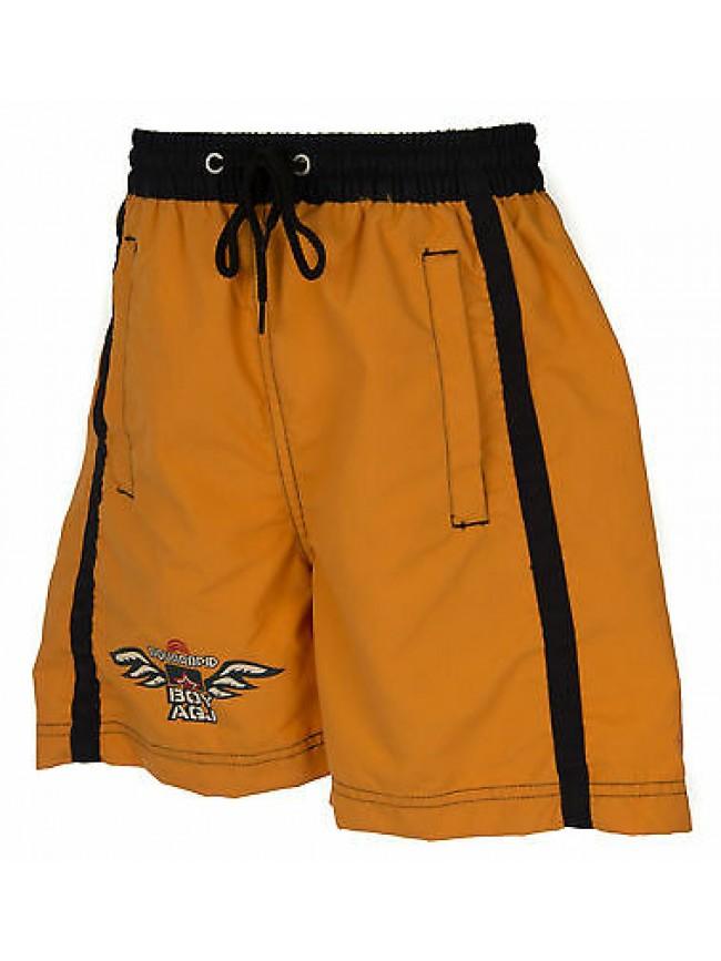 Boxer mare bimbo beachwear AQUARAPID a. KILOS JR taglia 8A 8 ANNI col. Y-ORANGE