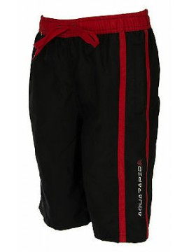 Boxer mare bimbo beachwear AQUARAPID a. KIRRA JR taglia 12A 12 ANNI col. C-BLACK