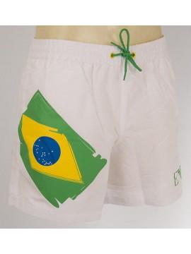 Boxer mare shorts beachwear EMPORIO ARMANI 211118 4P429 T.54/XXL c.00010 BIANCO