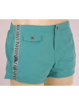 Boxer mare shorts beachwear EMPORIO ARMANI 211272 4P420 T.XXL 00032 TURQAQUA