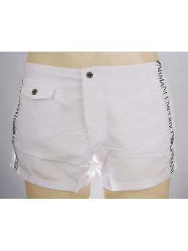 Boxer mare shorts beachwear EMPORIO ARMANI a.211272 4P420 T.XL c.00010 BIANCO