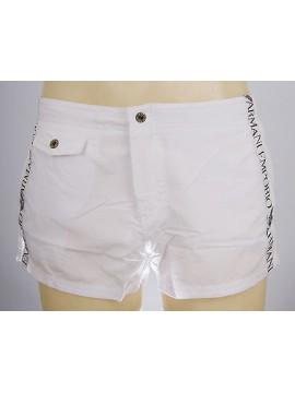 Boxer mare shorts beachwear EMPORIO ARMANI a.211272 4P420 T.XXXL c.00010 BIANCO