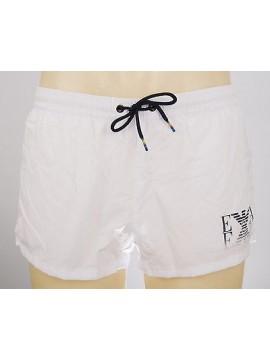 Boxer mare shorts beachwear EMPORIO ARMANI a.211636 4P439 T.XXL c.00010 BIANCO