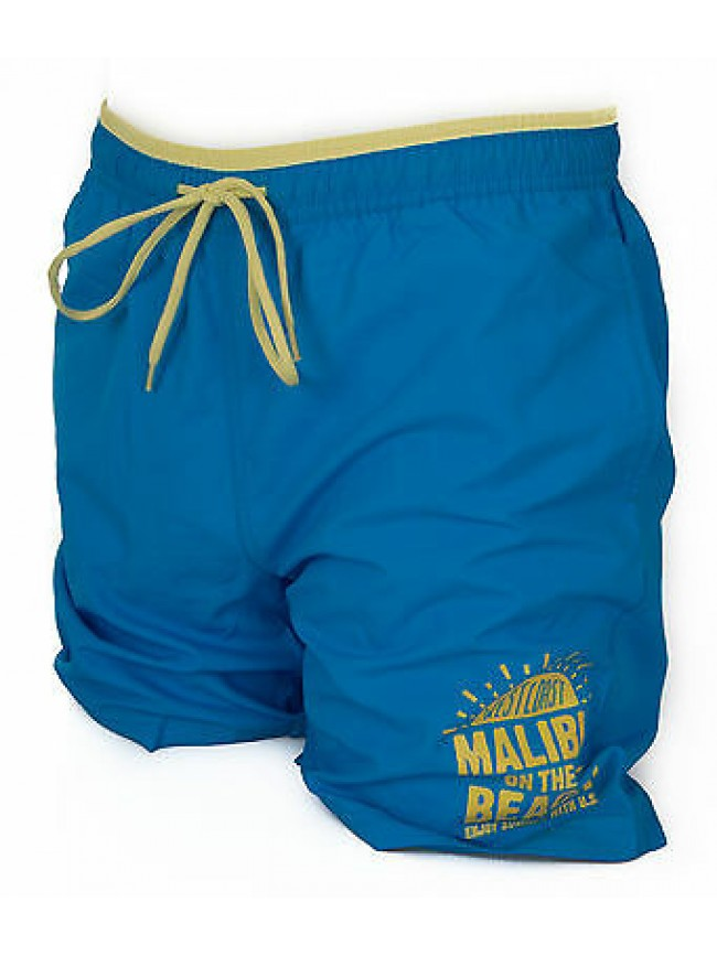 Boxer mare trunk beachwear KEY-UP art. 23X64 taglia S col. 3250 TURCHESE