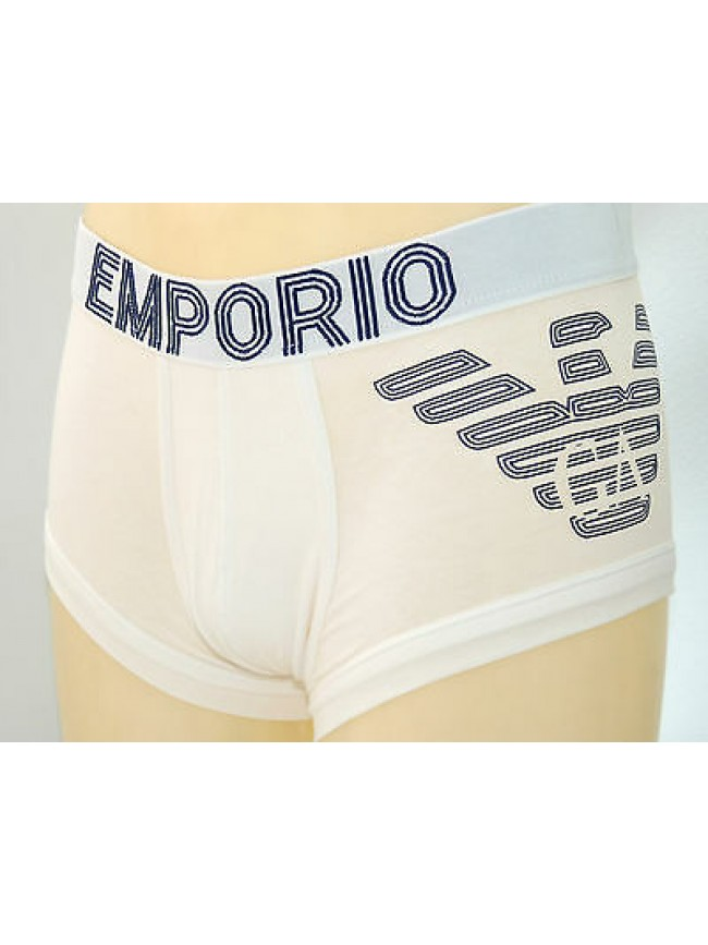 Boxer parigamba trunk EMPORIO ARMANI a.111866 3A745 T.S col.00010 bianco white