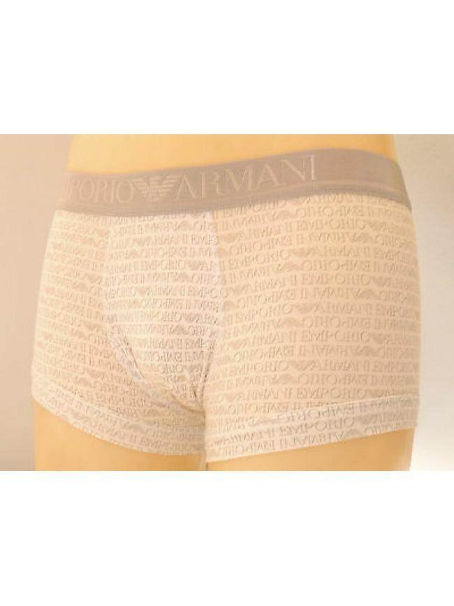 Boxer parigamba trunk EMPORIO ARMANI art.111389 3A508 T.M col.13310 bianco log