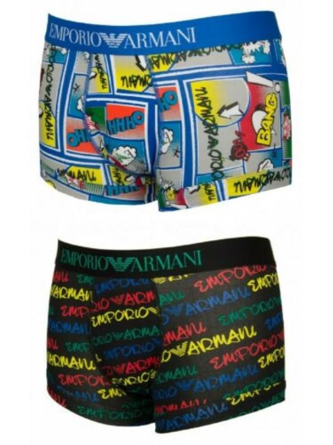 Boxer parigamba uomo underwear EMPORIO ARMANI articolo 111389 0P509