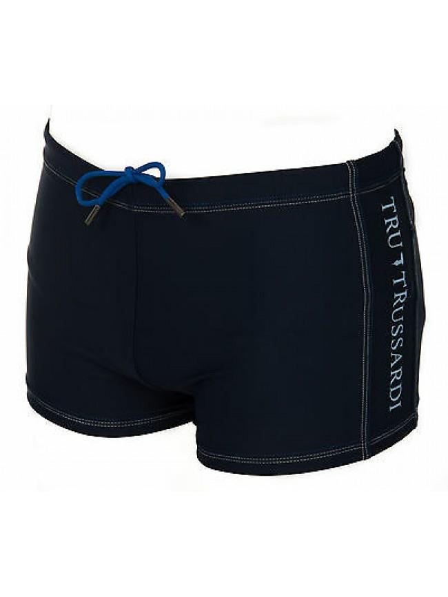 Boxer short mare trunk beachwear TRU TRUSSARDI NT6157 taglia S col. 113 DENIM
