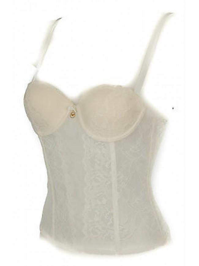 Bustino corsetto bustier EMPORIO ARMANI 163682 6P233 taglia 34/B c. 00011 PANNA
