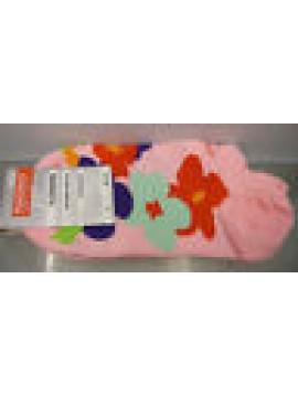 CALZA PARISCARPA DONNA SOCKS RAGNO ART.09087P T.36-40 COL.ROSA FIORI FLOWERS