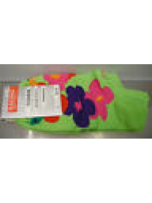 CALZA PARISCARPA DONNA SOCKS RAGNO ART.09087P T.36-40 COL.VERDE FIORI FLOWERS