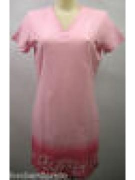 CAMICIA DA NOTTE DONNA NIGHTGOWN WOMAN CAMISON FILA 28039 T.3-M ROSA PINK
