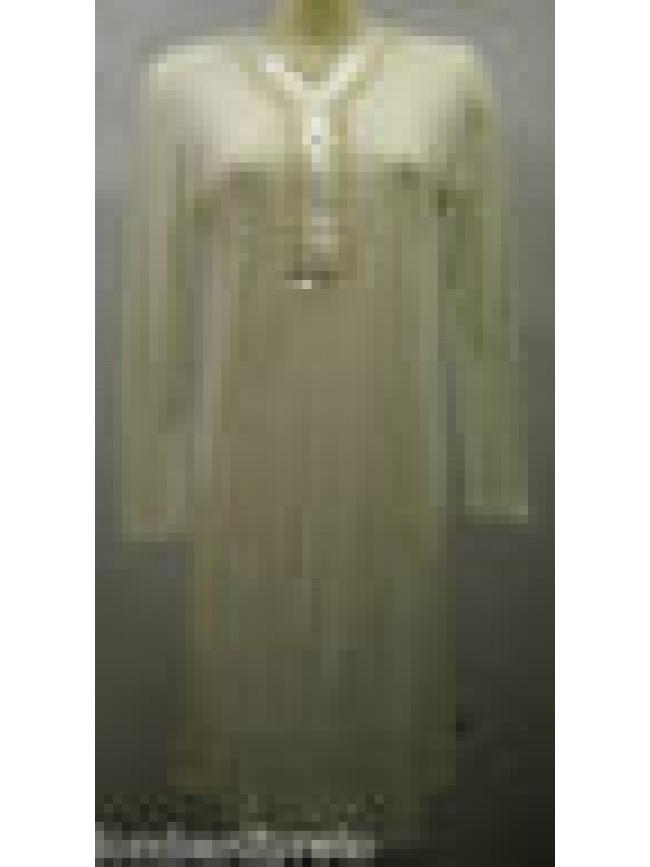 CAMICIA NOTTE DONNA MODAL NIGHTGOWN WOMAN CAMISON RAGNO N78747 T.42 C.004 AVORIO