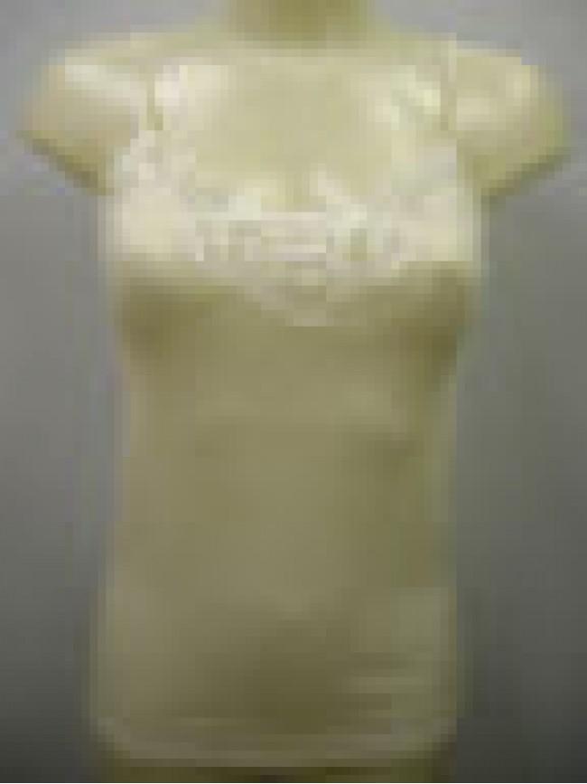 CAMICIOLA LACCINI-TOP LANA-SETA DONNA RAGNO A.07638E T.4/M C.002 BIANCO WOOL
