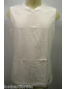CANOTTIERA CANOTTA SINGLET BOXEUR UOMO MAN RAGNO SPORT 063173 T.7 BIANCO WHITE