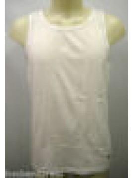 CANOTTIERA CANOTTA SINGLET VEST UOMO MAN FILA 46029 T.4-M COL.003 BIANCO WHITE