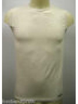 CANOTTIERA CANOTTA SMANICATO SINGLET UOMO MAN PARAH N309 0213 T.4 GRIGIO GREY