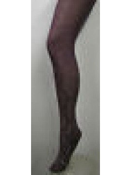 COLLANT CALZA DONNA WOMAN ARWA ART.TF53 DAMASCO T.3/4 COL.065 VIOLA PURPLE