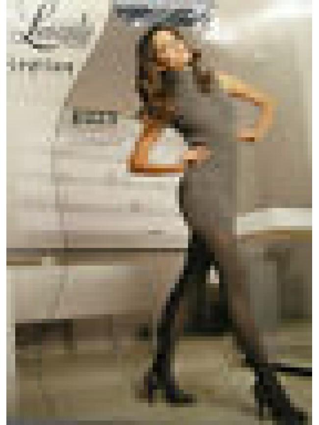 COLLANT CALZA DONNA WOMAN LEVANTE ART.E023 T.3/4 COL.NERO - 40 DEN 44 DTEX