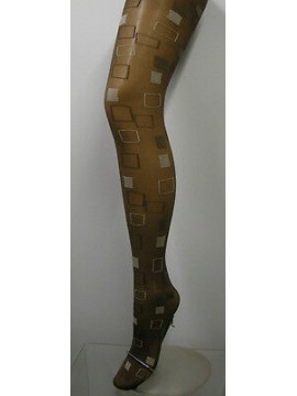 COLLANT CALZA DONNA WOMAN LEVANTE ART.FOSSET T.1/2 COL.MARRONE - 20 DEN 22 DTEX