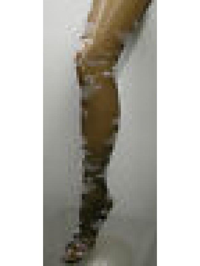 COLLANT CALZA DONNA WOMAN LEVANTE ART.PIAFF T.1/2 COL.MOKA - 40 DEN 44 DTEX
