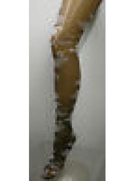 COLLANT CALZA DONNA WOMAN LEVANTE ART.PIAFF T.3/4 COL.MOKA - 40 DEN 44 DTEX