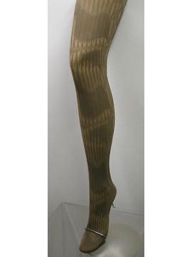 COLLANT CALZA DONNA WOMAN LEVANTE ART.SOLANGE T.3/4 COL.MARRONE - 60 DEN 66 DTEX