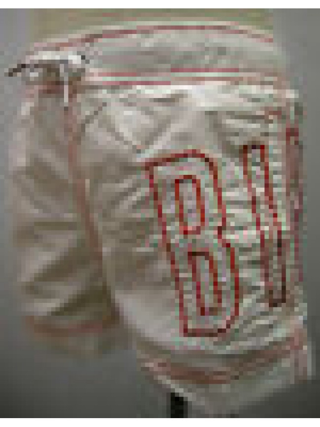 COSTUME BOXER MARE BAMBINO BIMBO BIKKEMBERGS A.SA38 L17 T.8 ANNI C.1100 BIANCO