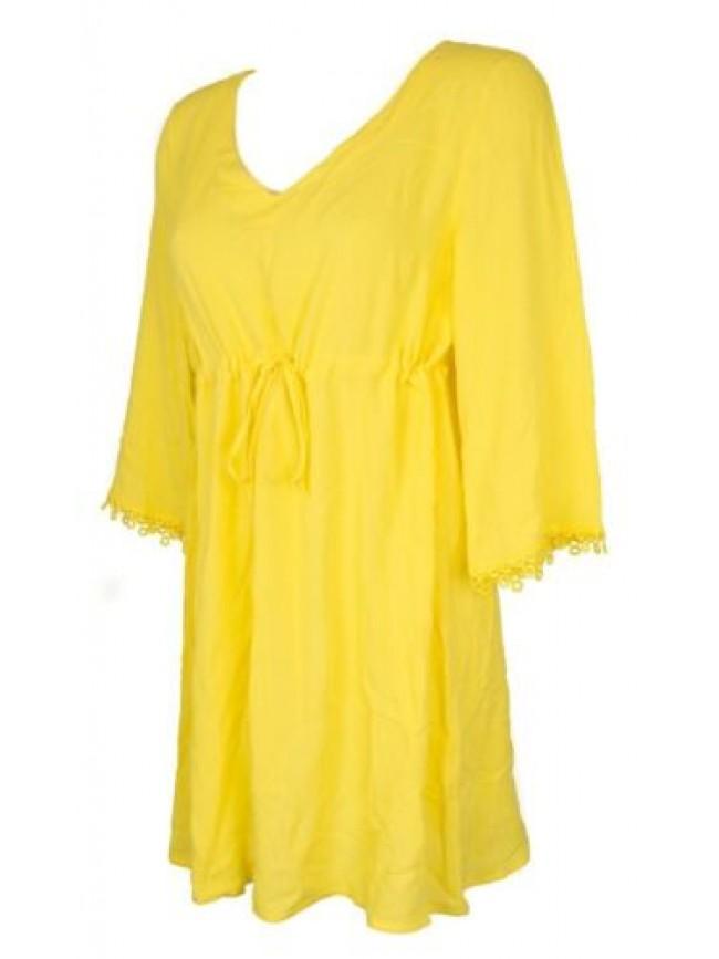 Caftano corto abito maniche 3/4 in viscosa vestito donna RAGNO articolo 71317W m