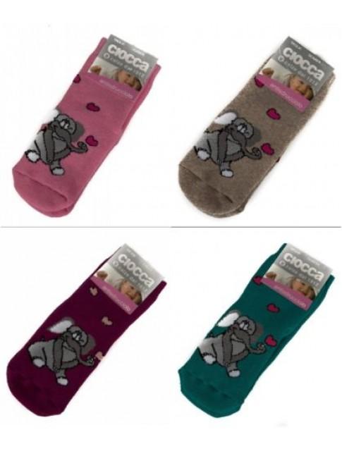 Calza calzini antiscivolo antisdrucciolo baby CIOCCA articolo 3/470A