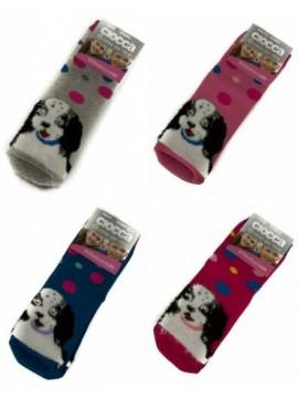 Calza calzini antiscivolo antisdrucciolo bimba ragazza CIOCCA articolo 4/449A