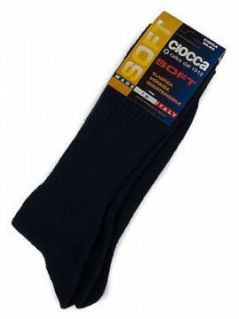 Calza calzino corto basso uomo sock CIOCCA art. 501/1 taglia 40-45 col. JEANS