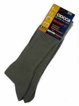 Calza calzino corto basso uomo sock CIOCCA art. 501/1 taglia 40-45 col. PERLA