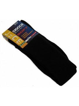 Calza calzino lungo alto uomo sock CIOCCA art. 501 taglia 40-45 col. NERO